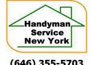 Handyman, manhattan, new york city, 646 355 5703, handyman,