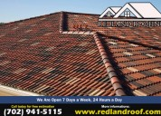 Professional roofing contractor in las vegas, nv-redland roofing