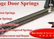Garage door spring repair services in dallas