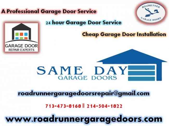 Garage Door Opener Repair Services Cypress, TX only @ $26.95
