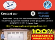 Commercial garage door repair services cypress, houston