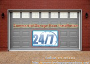 24 hrs new garage door installation in $26.95 - irving, dallas