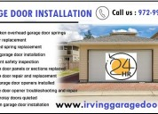 Fast garage door replacement 75039, texas