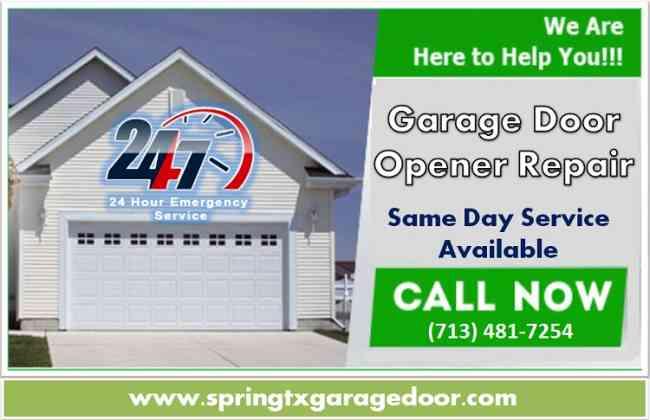 Garage Door Repair and Installation Service Spring, Houston