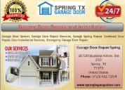 Get 24/7 services on new garage door installation spring, tx @ call (713) 481-7254
