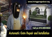 Same day automatic gate repair service irving, tx