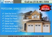 Emergency services   garage door repair in spring, tx   starting $26.95