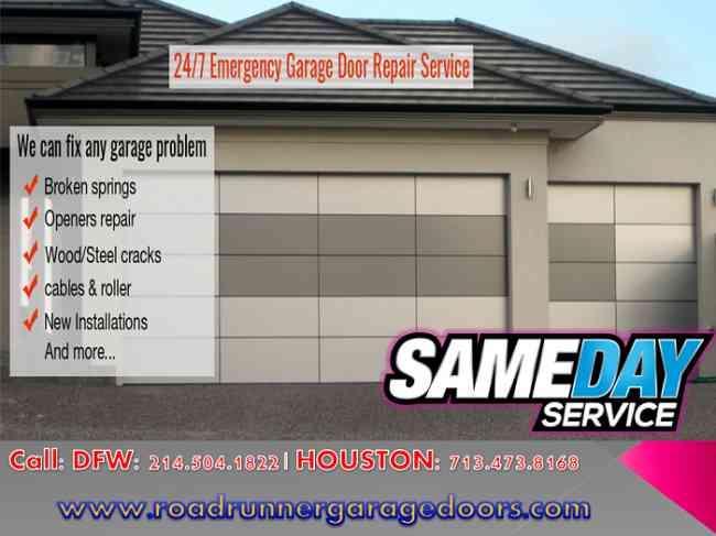Trustworthy and Professional Garage Door Repair Service Katy