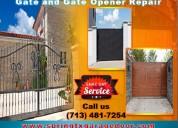 Get 24/7 emergency gate & gate opener repair spring, tx @ starting $26.95