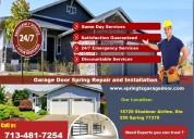 Getting the best discount on garage door repair spring, tx | starting $26.95