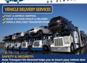Auto transport on demand - nationwide auto transporting service