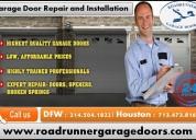 Expert garage door service repair and installation in katy