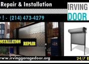Garage door service in irving | (972) 436-3794