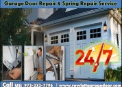 Provides same day garage door repair service 75087