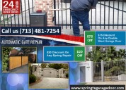 Most attractive discount on new gate installation spring, tx | start $26.95