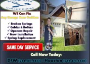 Residential garage door service & installation company katy, tx