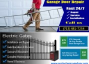 Gate repair and installation in spring, tx | call us (713) 481-7254