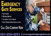 Automatic gate installation service sugarland, tx   same day service   starting only $26.95