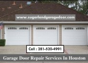 Trusted garage door repair and installation company sugar land