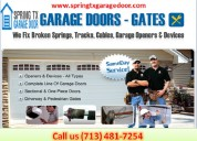 Top most garage door spring repair company in spring, tx | $25.95