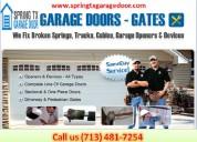 Top most garage door spring repair company in spring, tx | $25.95