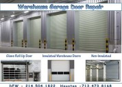 Warehouse garage door repair company in frisco