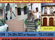 Emergency residential garage door repair service houston, tx
