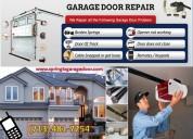 Roll up new garage door installation company in spring, tx
