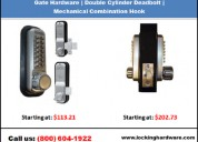 #1 gate hardware  - mechanical deadbolt company in new jersey | call us (800) 604-1922