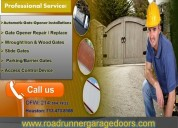 Extremely professional automatic gate repair service in sugar land