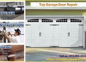 New garage door installation | 75039, tx