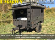 Military hmmwv tactical m1101 m1102 trailer adventure camper & expedition conversion
