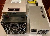 Bitmain antminer s9 13.5th/s and 14th/s con apw3++ psu