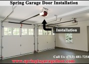 The powerful garage door spring repair company in spring, tx