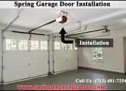 The powerful garage door spring repair company in spring, tx
