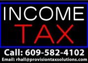 Professional income tax preparation