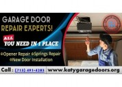 24/7 garage door repair service and installation katy | same day service