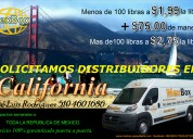 Solicitamos distribuidores para california