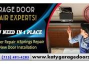 Garage door opener repair and replacement experts in katy, tx