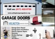 Most quality work on new garage door installation in arlington, tx