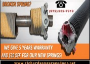 Quality and perfect garage door repair richardson
