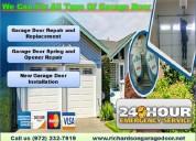 Are you finding garage door repair in richardson?
