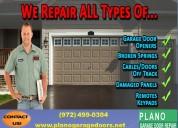 Top most garage door repair company in plano, tx