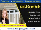 Broken garage door repair expert company in allen