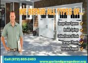 Garage door spring repair 972-805-2403 | garland