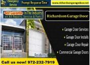 Broken garage door repair expert in richardson, tx