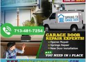Garage door spring repair 713-481-7254 | spring,tx