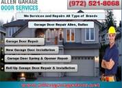 Garage door spring repair 972-521-8068 | allen, tx