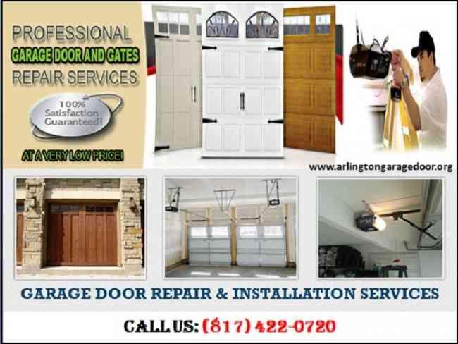 Garage Door Spring Repair | 8174220720 | Arlington