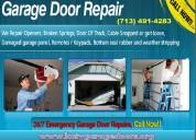 American top garage door repair company   katy, tx